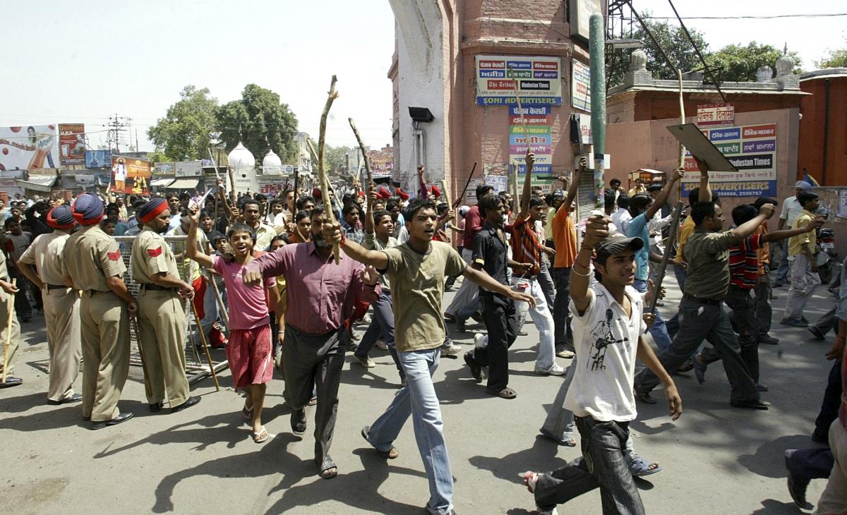 India Dalit suicide