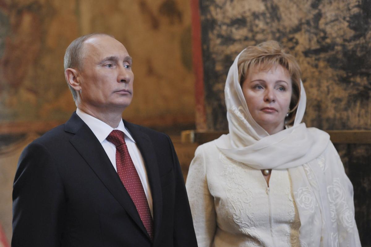 Putin couple