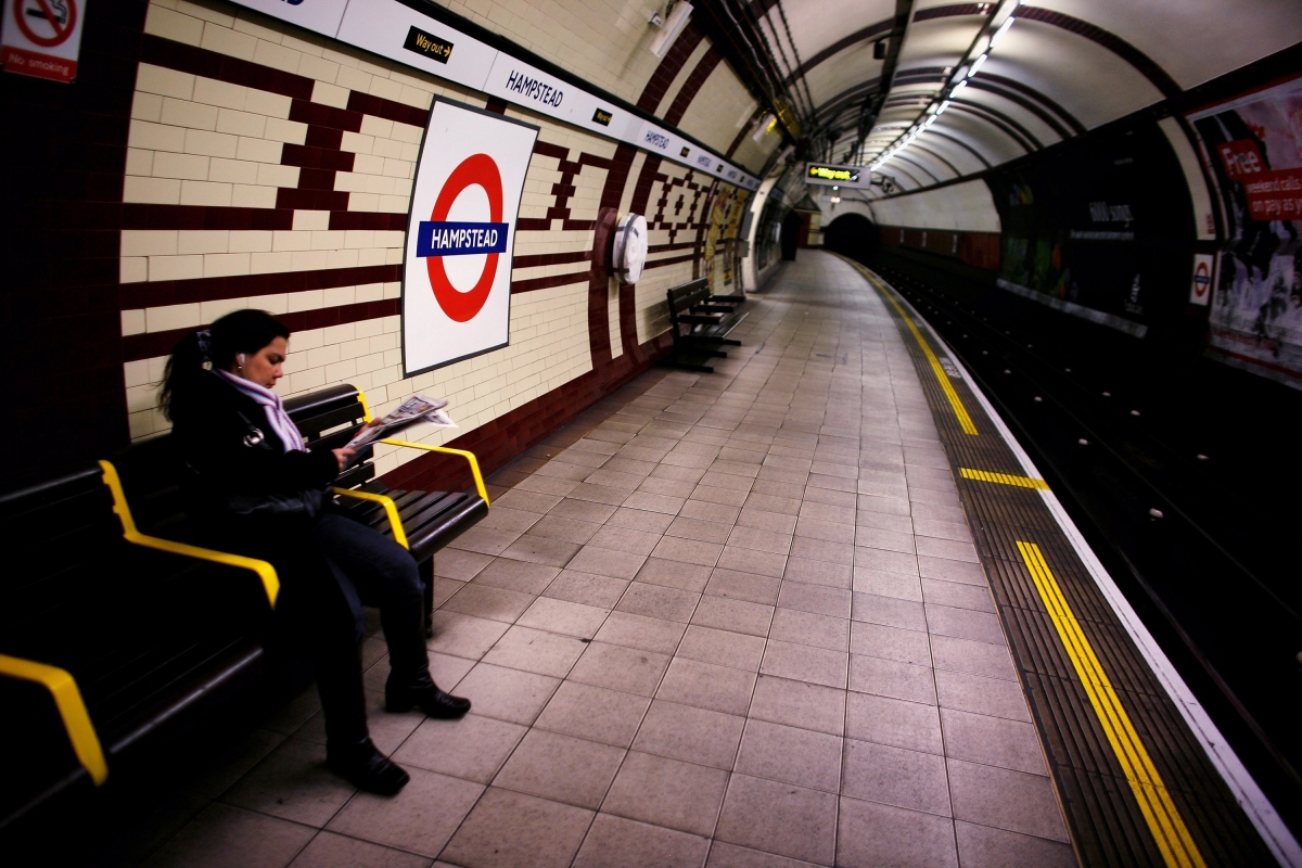 Hampstead London Underground property house prices
