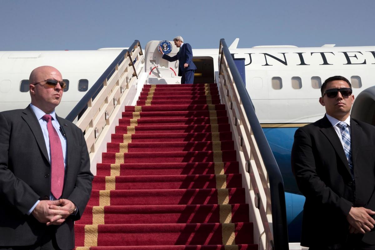 John Kerry in Saudi Arabia