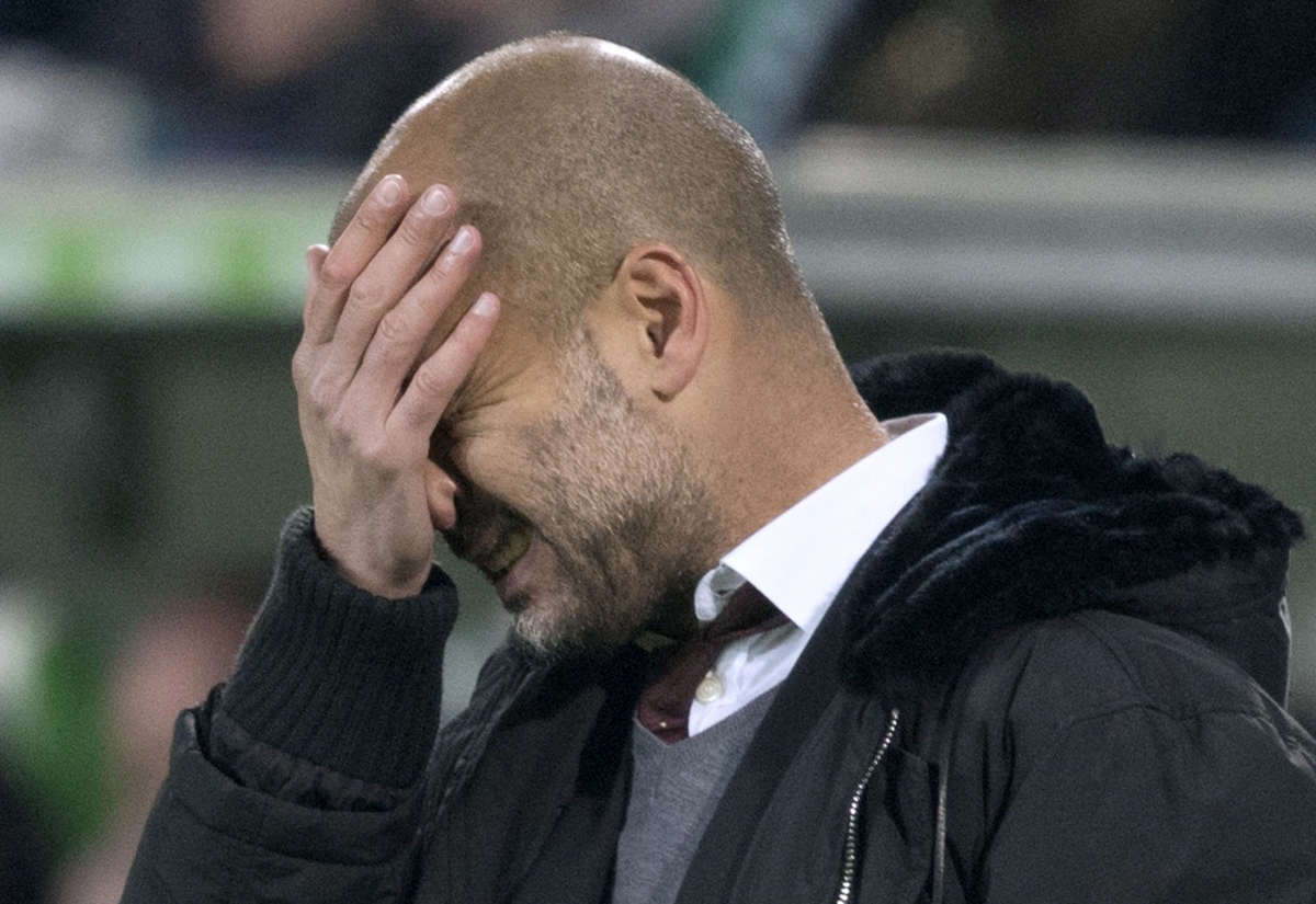 Pep Guardiola Manchester football