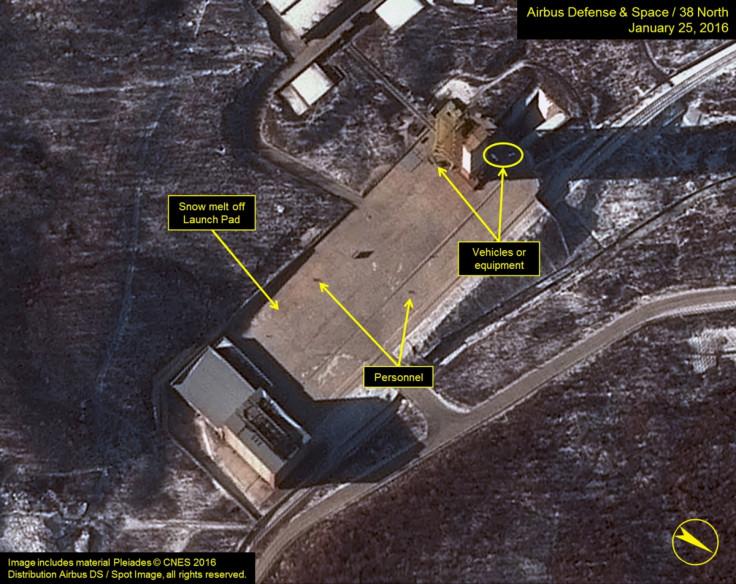 DPRK satellite plans