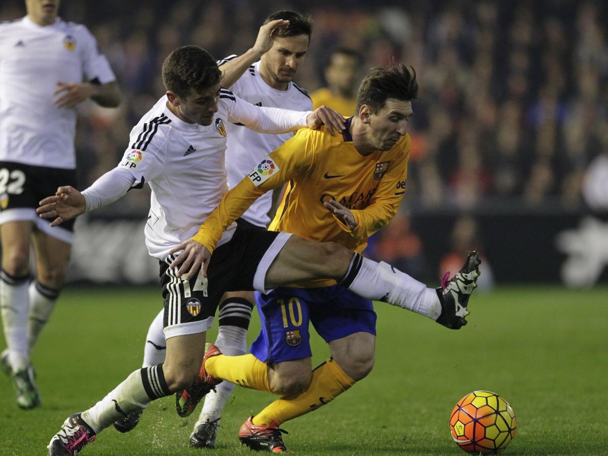 Jose Gaya, Pablo Piatti & Lionel Messi