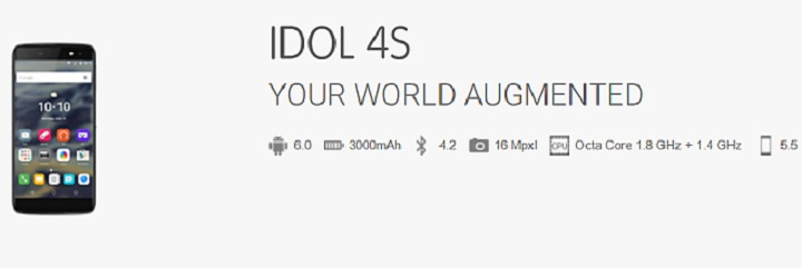 Aclatel OneTouch Idol 4S