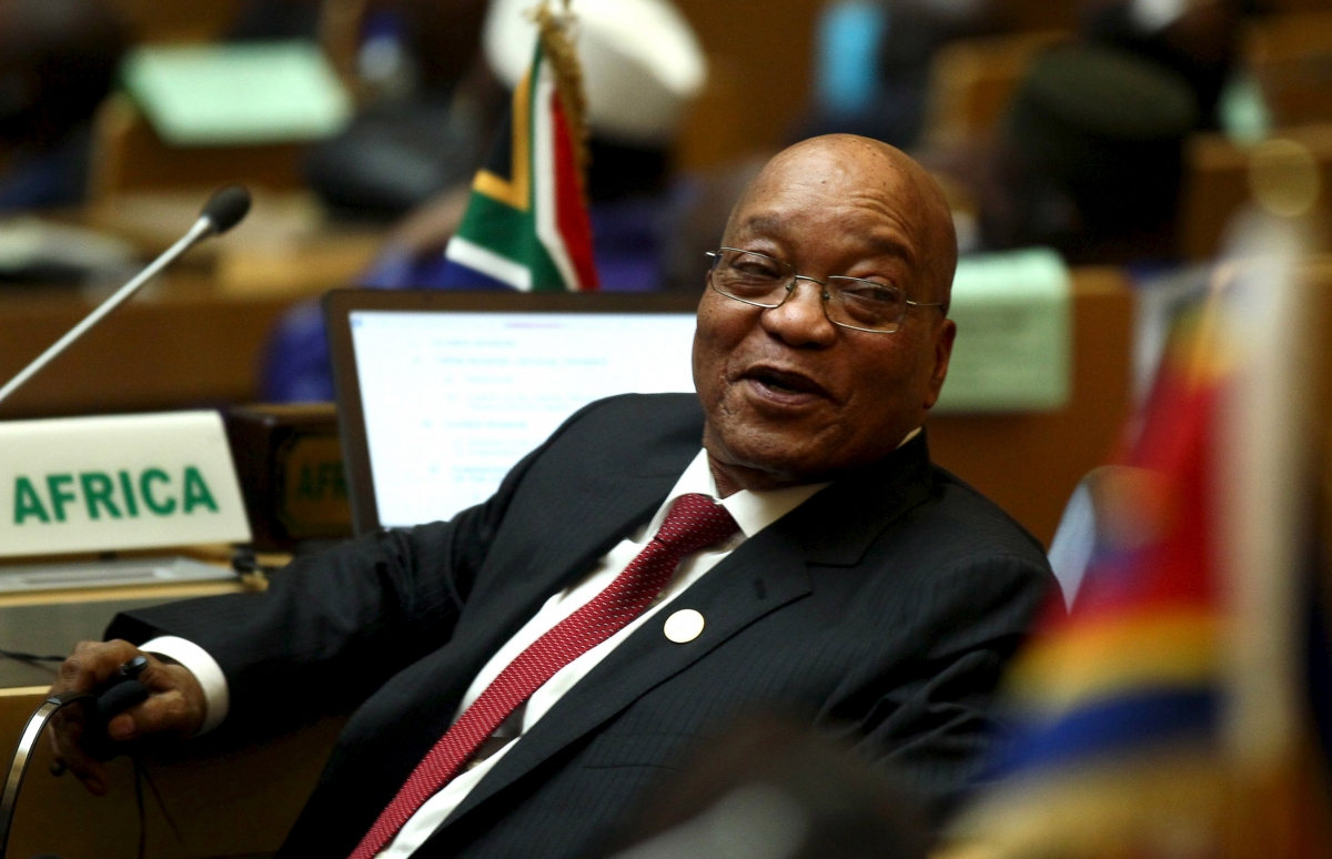 South Africa's President Jacob Zuma