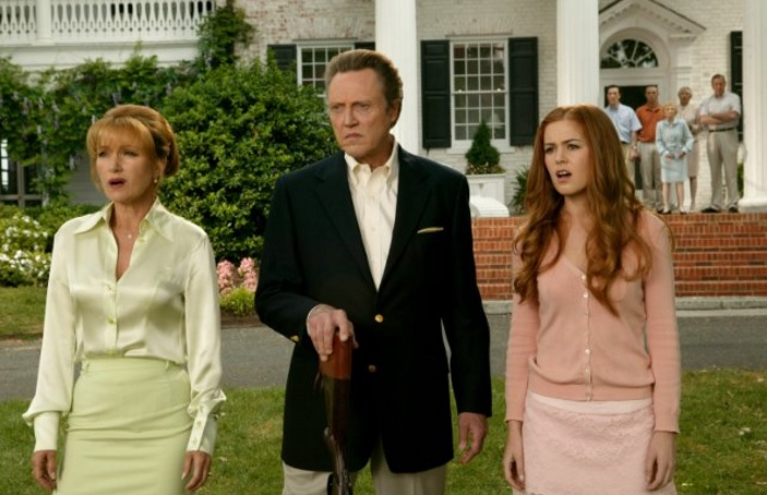 Isla Fisher, Christopher Walken and Jane Seymour