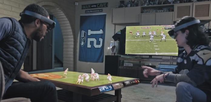 HoloLens Super Bowl