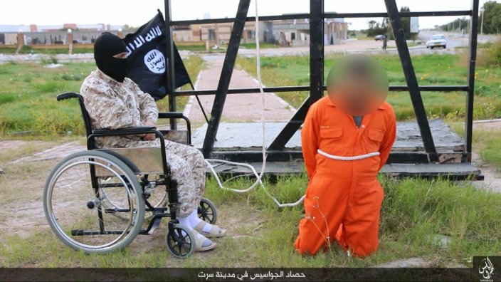 Isis wheelchair execution