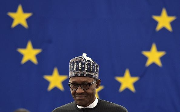 President Muhammadu Buhari at European Parliament