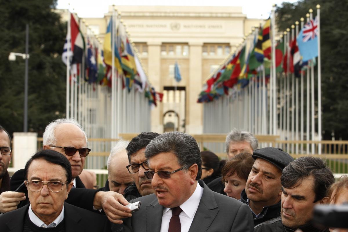 The Geneva peace talks