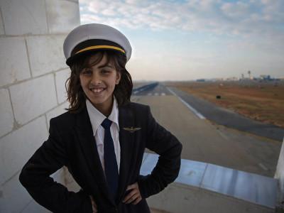 Syrian refugee girls