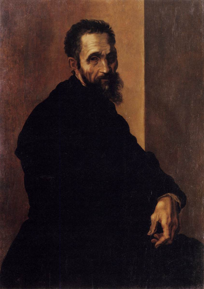 Jacopo del Conte - Portrait of Michelangelo