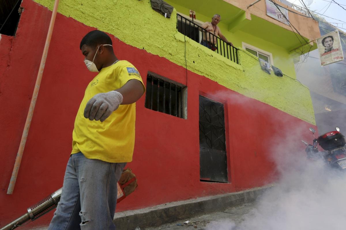 fumigating zika virus venezuela