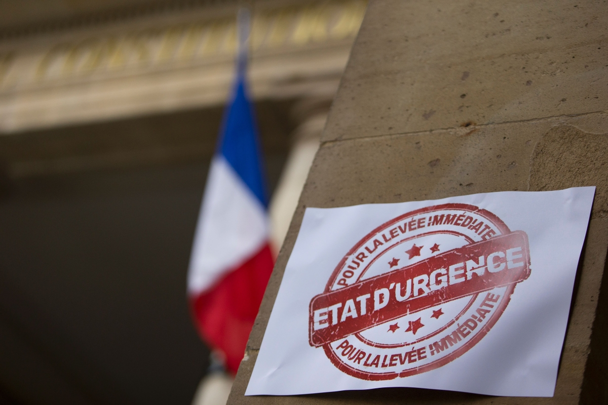 France state of emergency