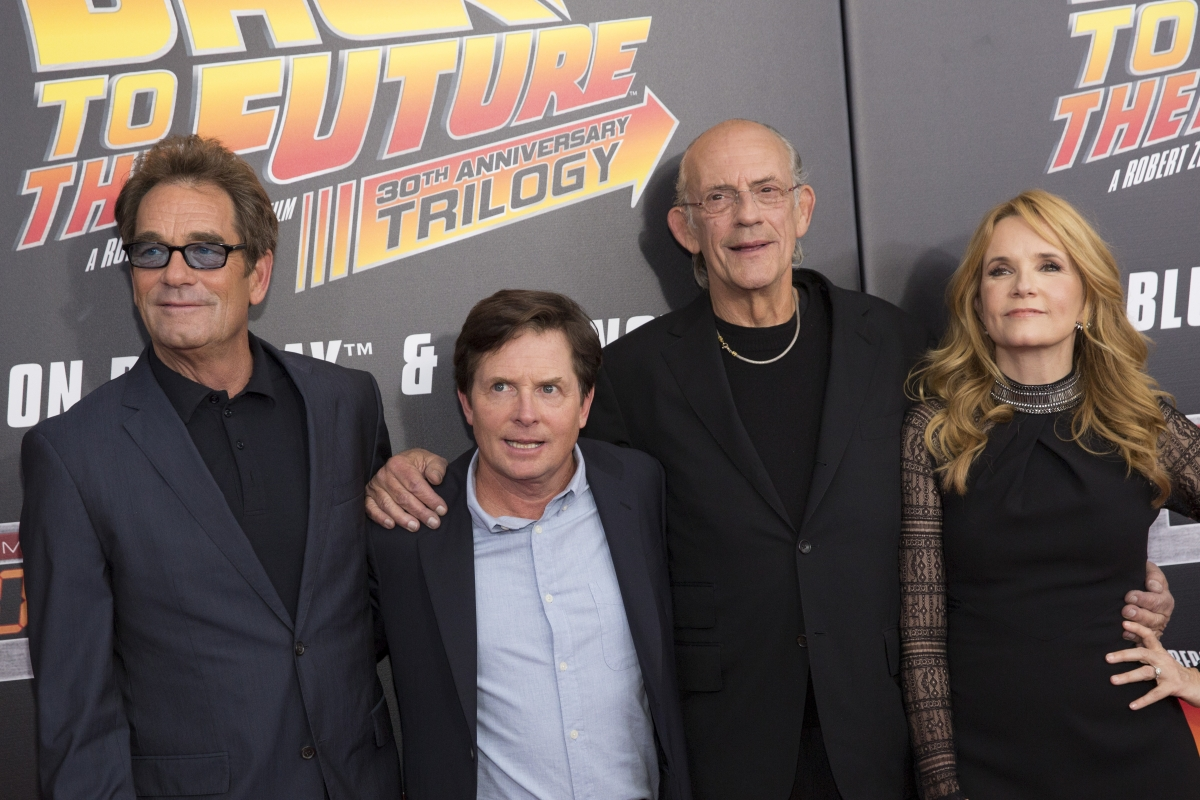 Back to the Future cast