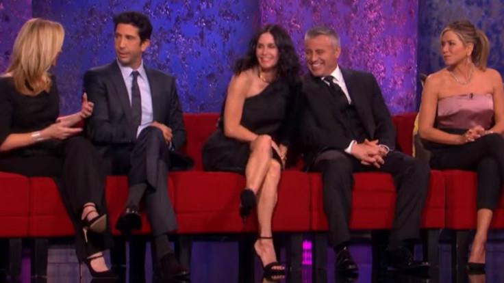 Friends Reunion Preview Of Jennifer Aniston David
