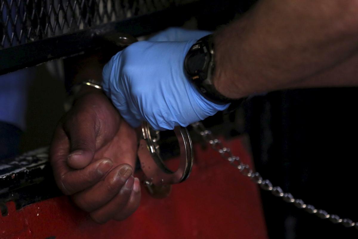Former British journalist arrested