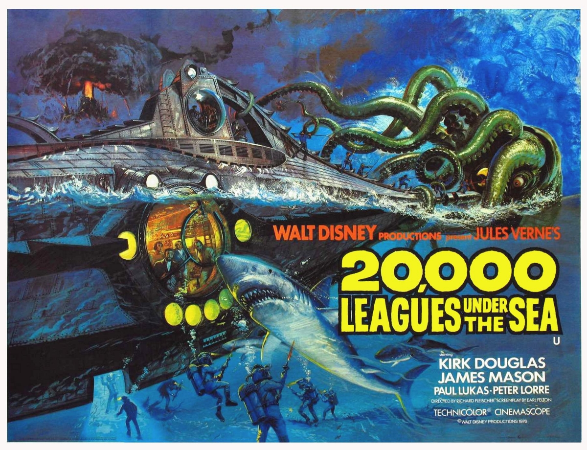 20,000 Leagues Under The Sea movie poster