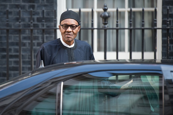 Image result for buhari in london