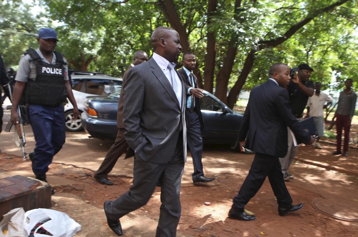 Zimbabwe's Prosecutor General Johannes Tomana