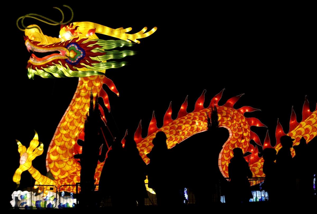 Dragon at Magical Lantern Festival