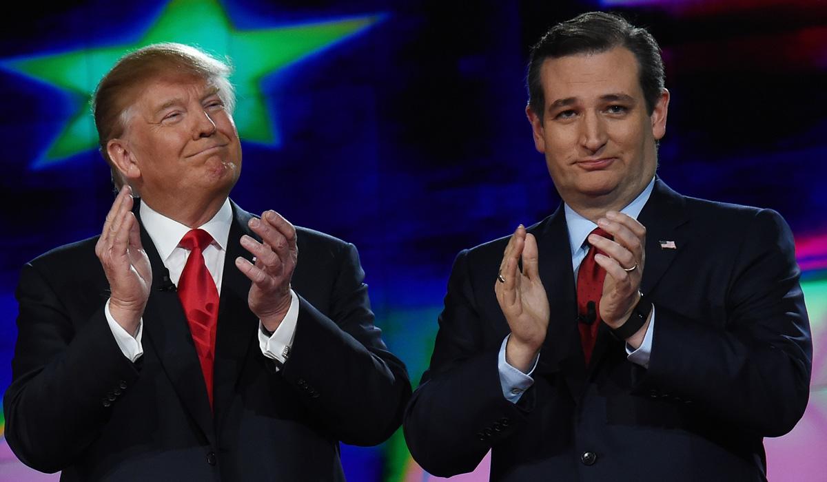 Donald Trump Ted Cruz