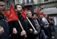 Greece economy strike