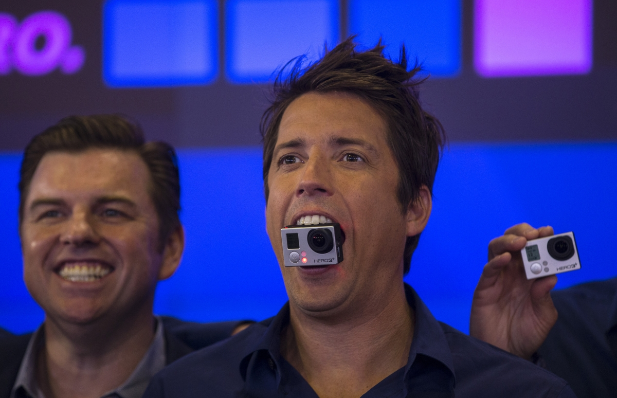 Nick Woodman, GoPro CEO