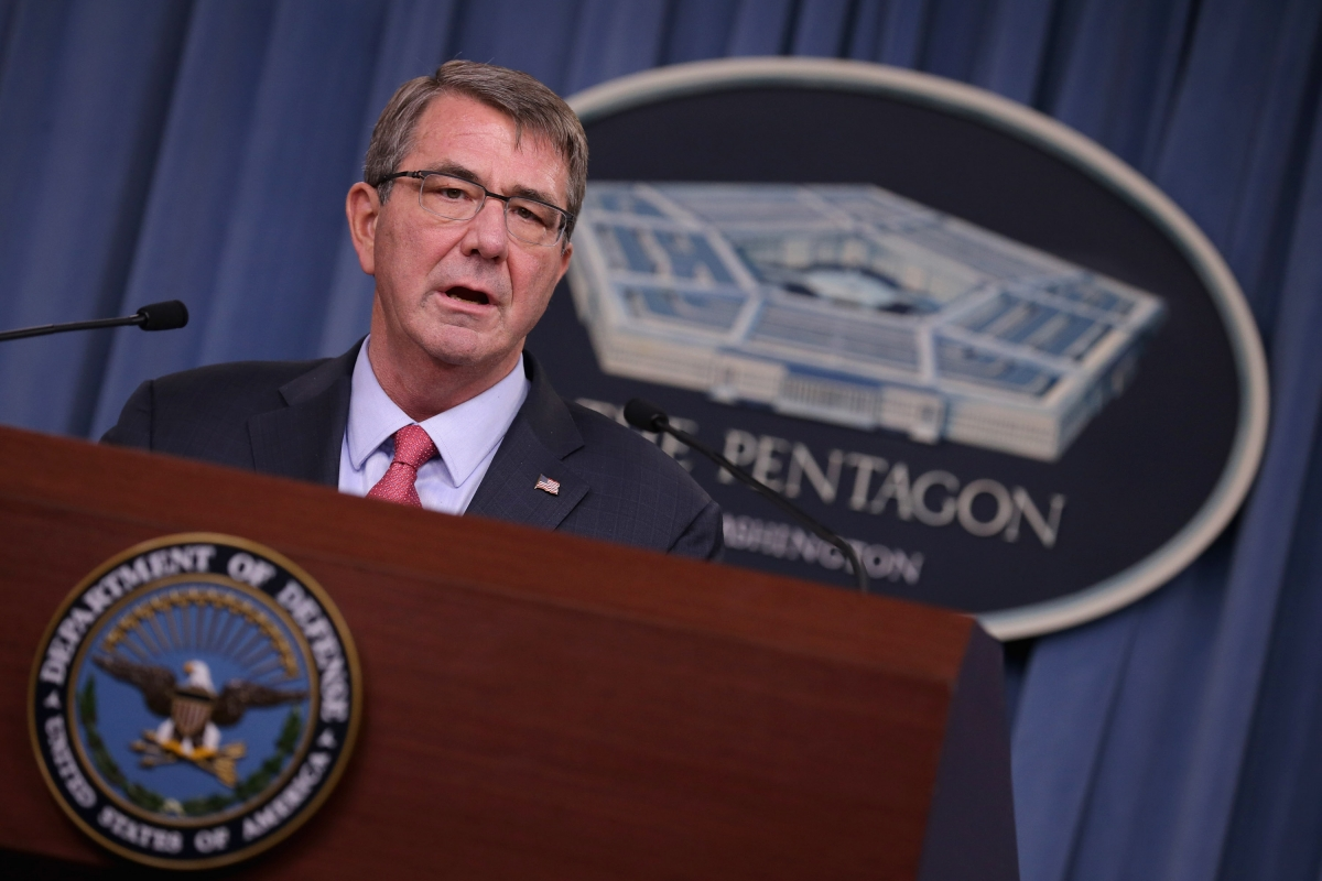 The US Defence Secretary Ash