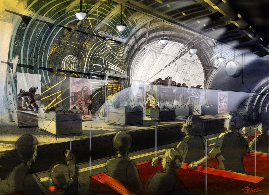 London's vintage Mail Rail and a new Postal Museum to be open to public by 2017