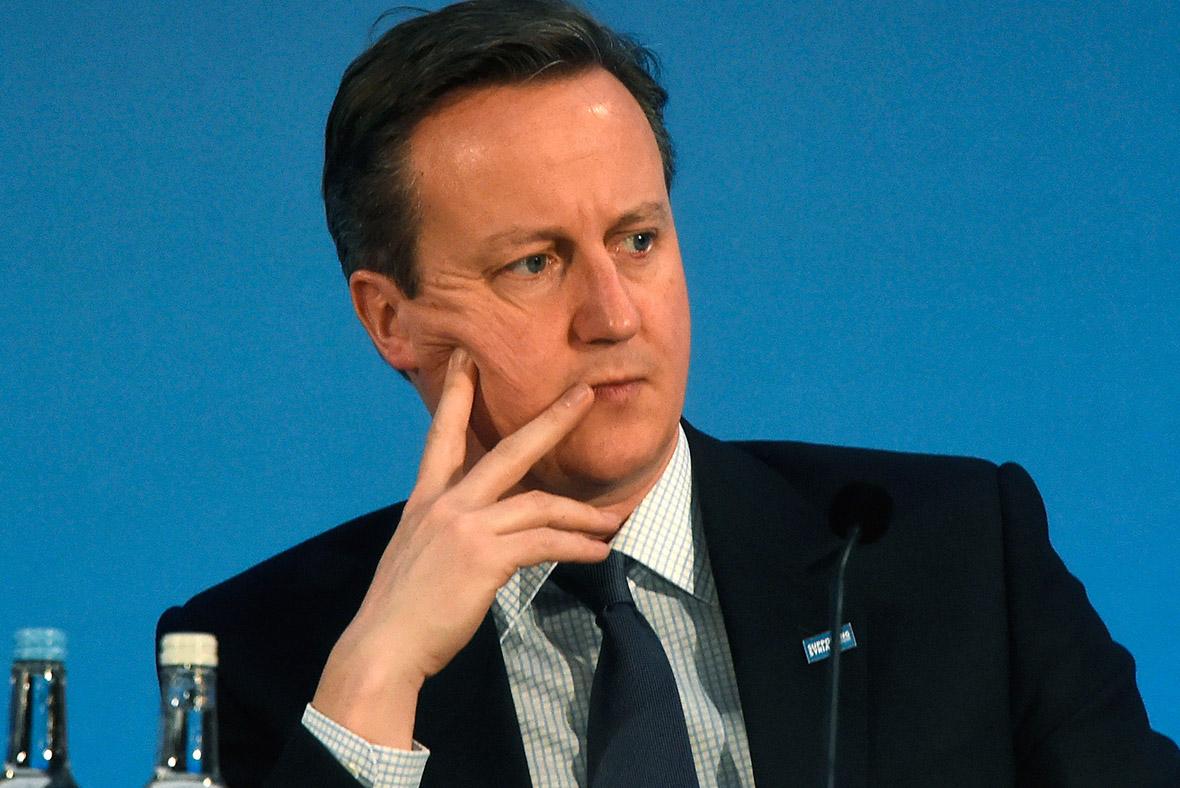 Dvaid Cameron, EU