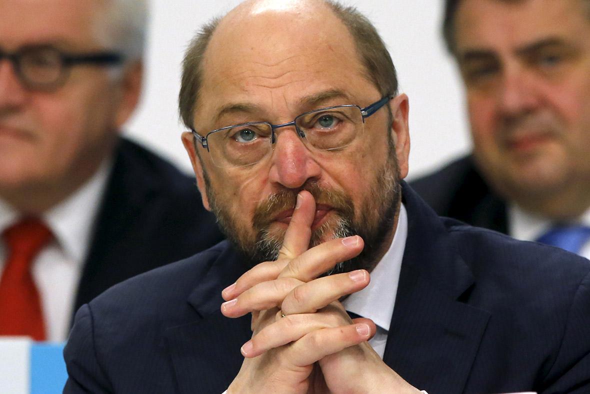 Martin Schulz, EU