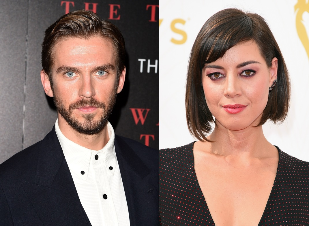 Dan Stevens and Aubrey Plaza