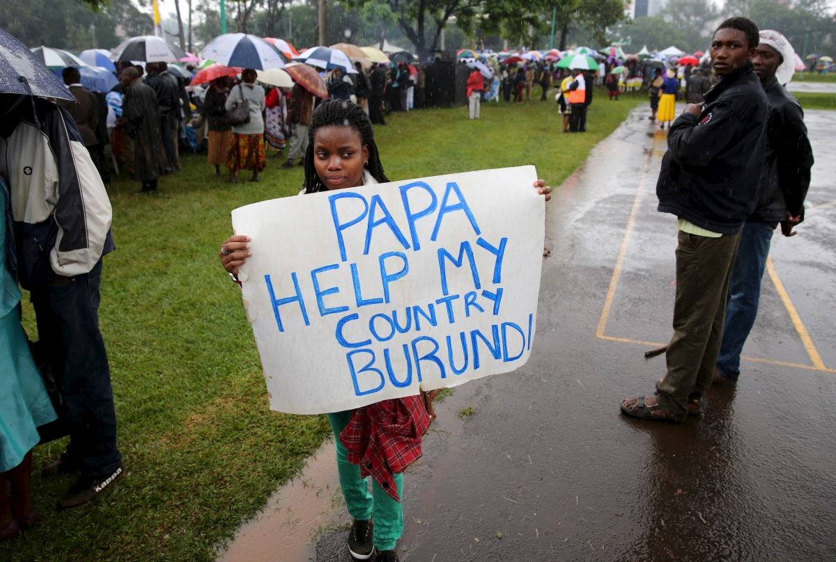 Burundian refugee in Kenya