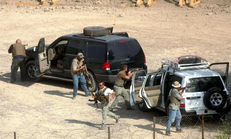 US private security firm Blackwater (now Academi)