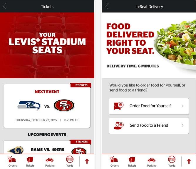 Levis Stadium app
