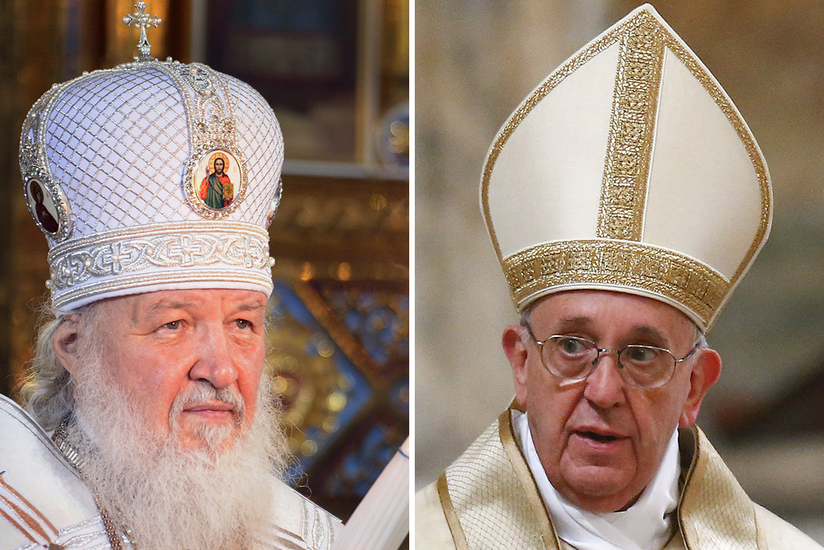 Patriarch Kirill Pope Francis