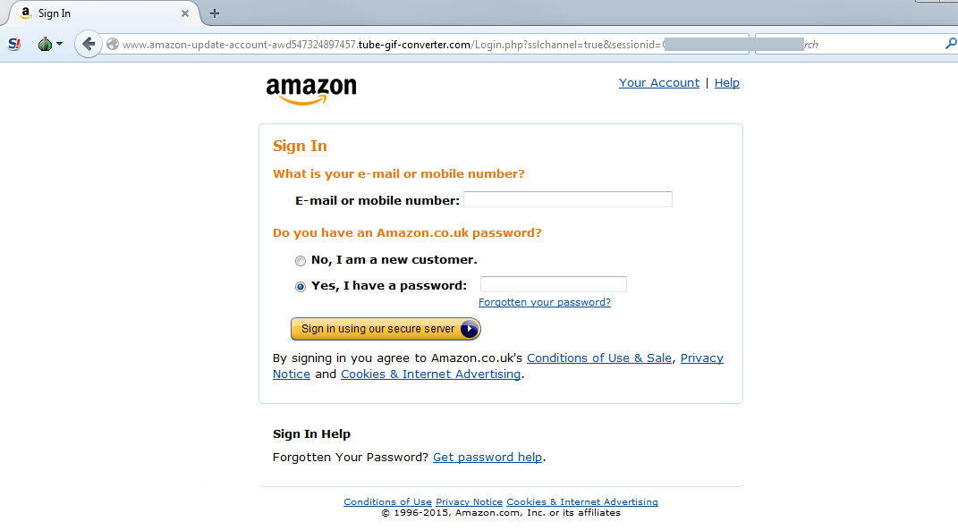 Amazon hit with survey phishing