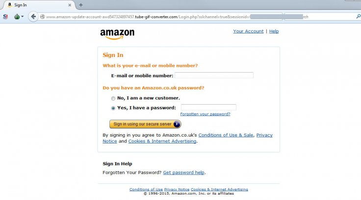 Amazon hit with survey phishing
