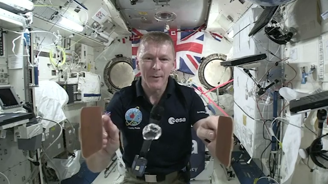 Astronaut Tim Peake to watch Six Nations England rugby match live from the ISS
