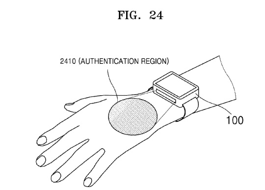 Samsung: Future smartwatch could tap your veins for