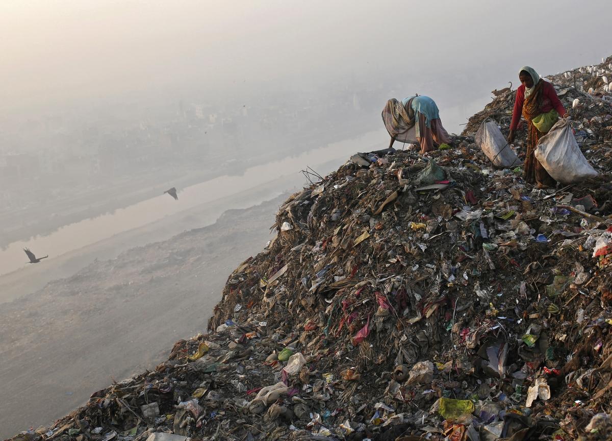 Delhi garbage crisis