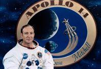 US astronaut Edgar Mitchell