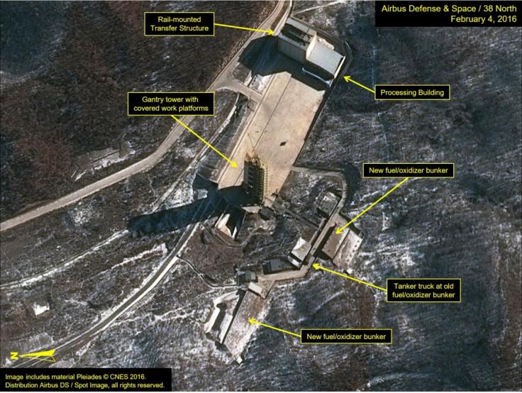Pyongyang launch