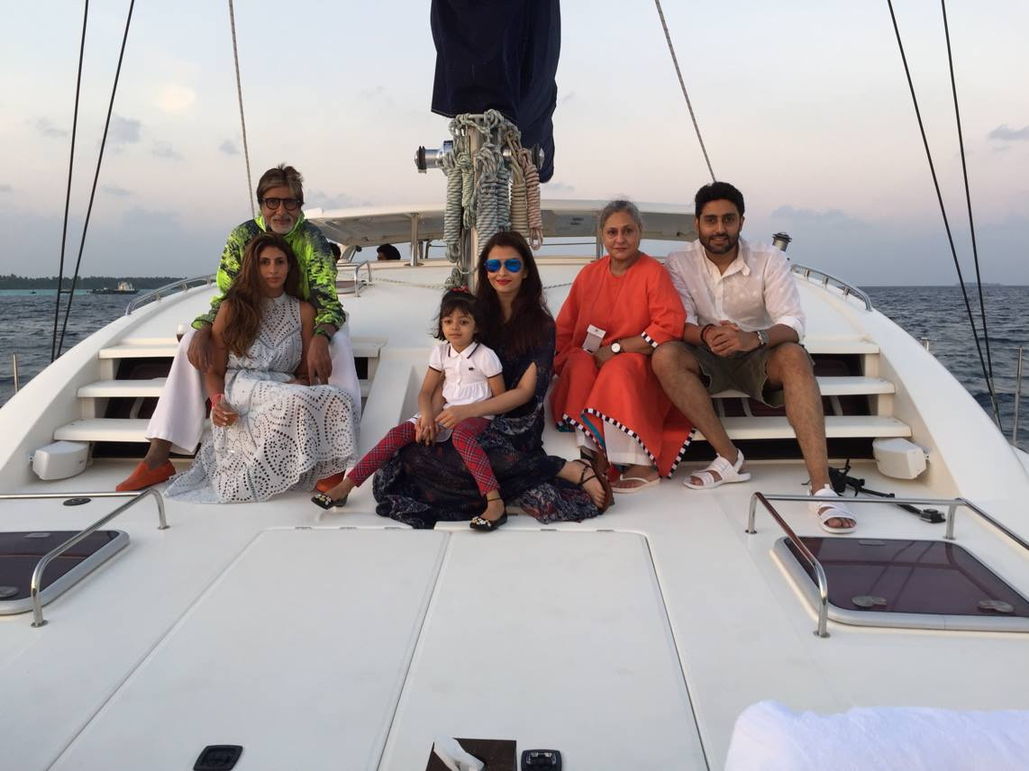Aishwarya Rai holidaying in Maldives