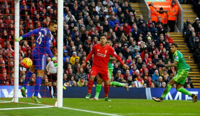Firmino scores for Liverpool