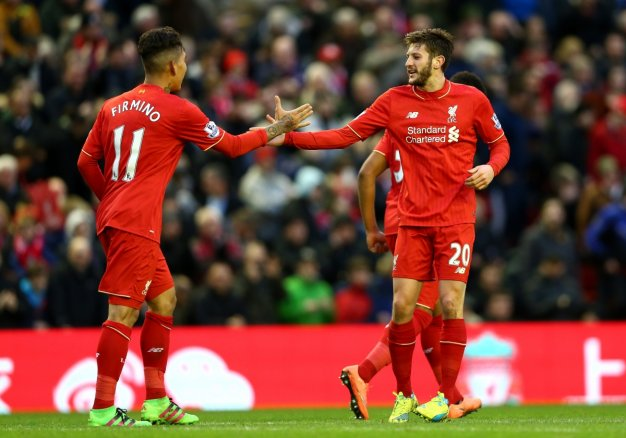 Firmino and Lallana