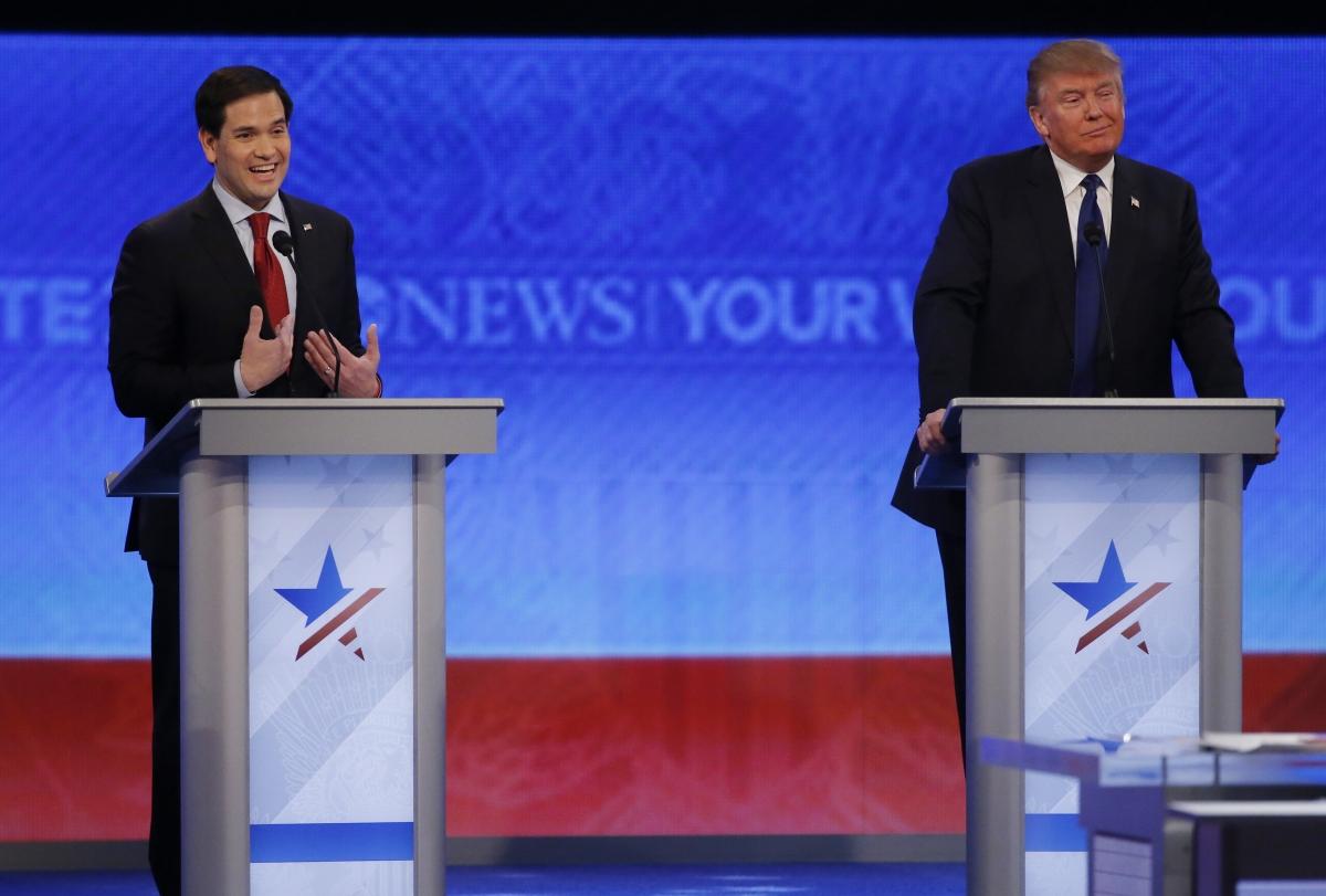 Marco Rubio & Donald Trump