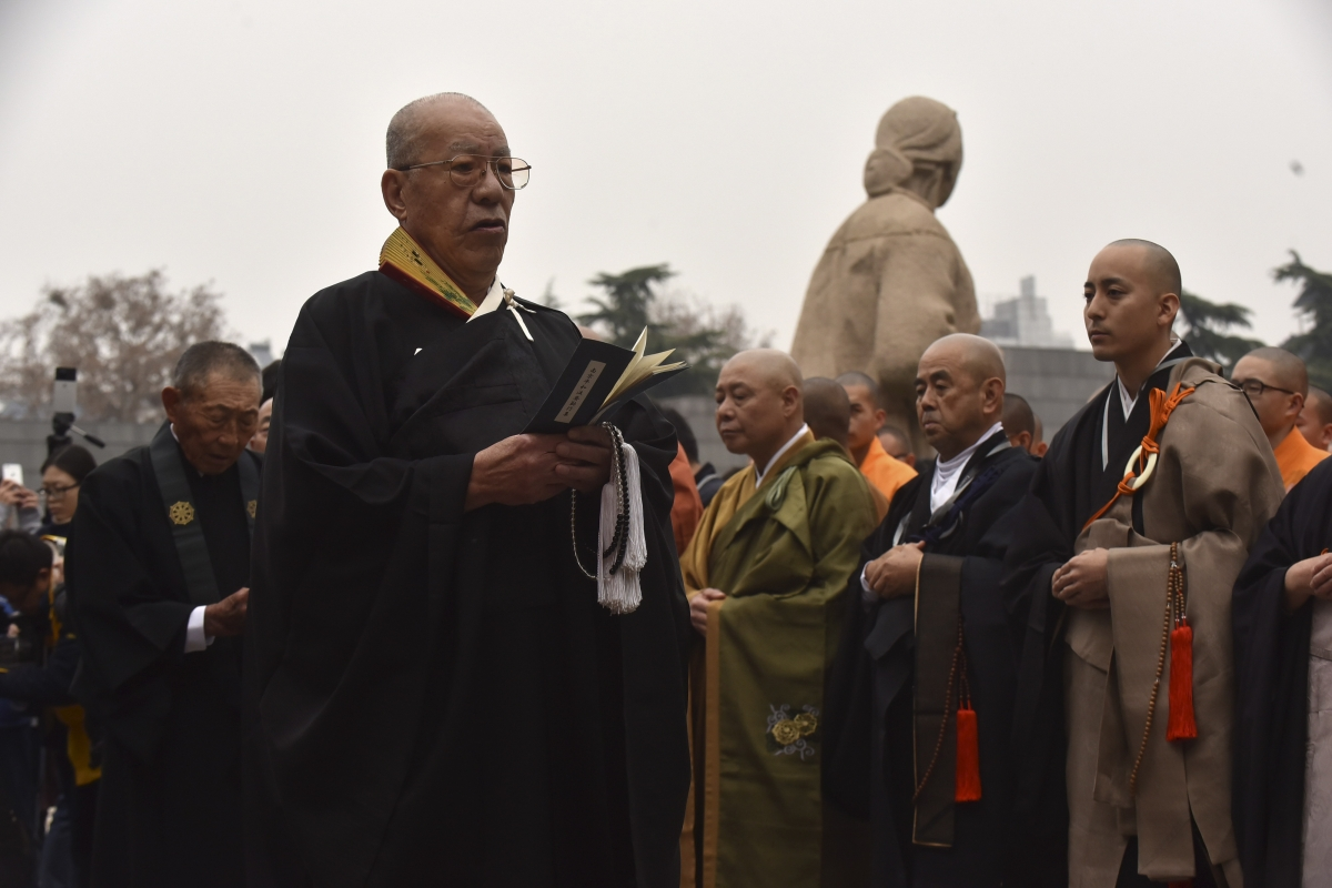 Japanese Buddhist monks