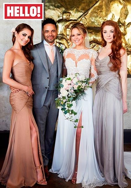 Kimberley Walsh Wedding